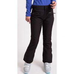 Bryczesy damskie: Spodnie narciarskie damskie SPDN270z - czarny