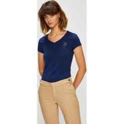 U.S. Polo - Top. Różowe topy damskie U.S. Polo, m, z bawełny, polo. W wyprzedaży za 99,90 zł.