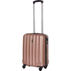 Walizki: Walizka w kolorze różowozłotym – 35 x 55 x 25 cm