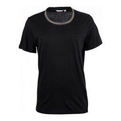 Mustang T-Shirt Damski S Czarny. Niebieskie t-shirty damskie marki Mustang, z aplikacjami, z bawełny. W wyprzedaży za 106,00 zł.