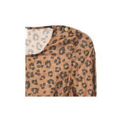 Sukienki krótkie Petite Mendigote  JOSEPHINE. Brązowe sukienki hiszpanki Petite Mendigote, l, petite, z krótkim rękawem, mini. Za 377,30 zł.