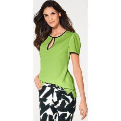 Odzież damska: Bluzka w kolorze zielonym