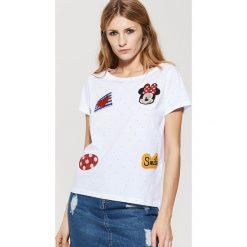 T-shirty damskie: T-shirt minnie mouse – Biały