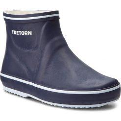 Kalosze TRETORN - Storm Low 473299 Navy 80. Niebieskie buty zimowe damskie Tretorn, z kauczuku. Za 199,00 zł.