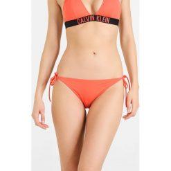 Bikini: Calvin Klein Swimwear CHEEKY STRING SIDE TIE Dół od bikini hot coral