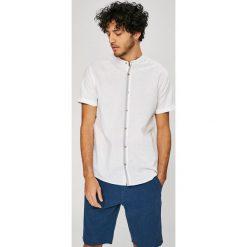 Medicine - Koszula Basic. Szare koszule męskie na spinki MEDICINE, m, z bawełny, ze stójką, z krótkim rękawem. W wyprzedaży za 59,90 zł.