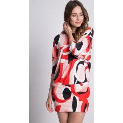 Sukienki: Dzianinowa sukienka typu nietoperz BIALCON