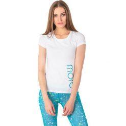 Outhorn Koszulka damska HOL18-TSD601 biała r. S. Szare bluzki damskie marki Outhorn, melanż, z bawełny. Za 24,99 zł.