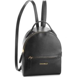 Plecak COCCINELLE - CF5 Clementine E1 CF5 54 01 01 Noir 001. Czarne plecaki damskie marki Coccinelle, ze skóry, eleganckie. Za 1149,90 zł.