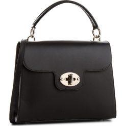 Torebka CREOLE - K10537  Czarny. Czarne torebki klasyczne damskie Creole, ze skóry. W wyprzedaży za 209,00 zł.