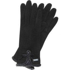 Rękawiczki damskie 47-6-104-1. Czarne rękawiczki damskie marki Wittchen. Za 59,00 zł.