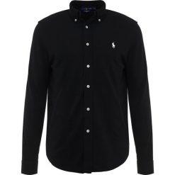 Polo Ralph Lauren FEATHERWEIGHT  Koszula black. Szare koszule męskie marki Polo Ralph Lauren, l, z bawełny, button down, z długim rękawem. Za 459,00 zł.