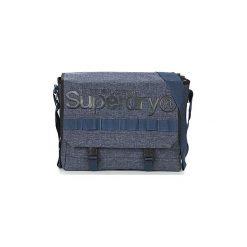 Teczki Superdry  MERCHANT MESSENGER BAG. Niebieskie aktówki męskie Superdry. Za 259,00 zł.