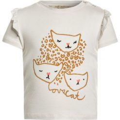 T-shirty damskie: Soft Gallery BABY SIF  Tshirt z nadrukiem gardenia