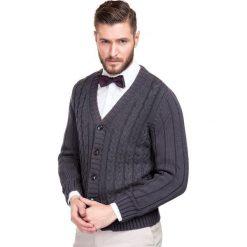 Sweter IRENEO 13-89CS. Niebieskie swetry rozpinane męskie marki Giacomo Conti, m, z tkaniny, klasyczne. Za 299,00 zł.