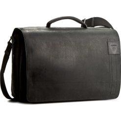 Torba na laptopa STRELLSON - Richmond 4010001261 Black 900. Czarne plecaki męskie marki Strellson, z nubiku. W wyprzedaży za 589,00 zł.