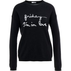 Swetry klasyczne damskie: iBlues ELICA Sweter black