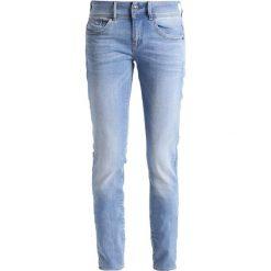 GStar LYNN MID SKINNY Jeans Skinny Fit lt aged. Niebieskie jeansy damskie relaxed fit marki G-Star, z bawełny. Za 599,00 zł.