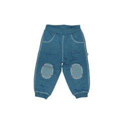 EBI & EBI Fairtrade Spodnie sportowe blue uni. Niebieskie spodnie chłopięce marki Ebi & Ebi, z bawełny, z długim rękawem. Za 69,00 zł.