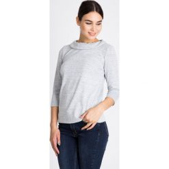 Bluzki damskie: Szara melanżowa bluzka  QUIOSQUE