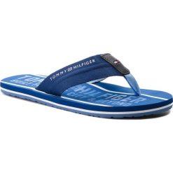 Chodaki męskie: Japonki TOMMY HILFIGER - Smart Th Beach Sandal FM0FM01371 Monaco Blue 408