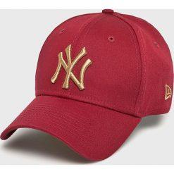 New Era - Czapka. Czerwone czapki z daszkiem męskie New Era. Za 119,90 zł.