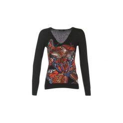 Swetry Desigual  VELIS. Czarne swetry klasyczne damskie Desigual, m. Za 244,30 zł.