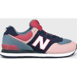 New Balance - Buty ML574INA. Szare buty skate męskie New Balance, z gumy, na sznurówki. Za 349,90 zł.
