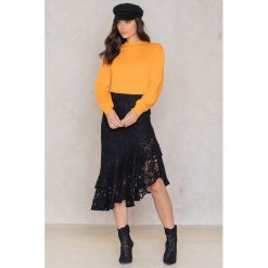 Bluzy damskie: NA-KD Trend Bluza Play Dirty - Orange