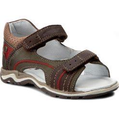 Sandały LASOCKI KIDS - CI12-2566-04 Brązowy. Brązowe sandały męskie skórzane marki Lasocki Kids. W wyprzedaży za 69,99 zł.