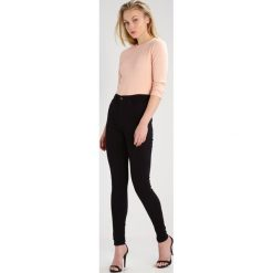 Topshop Tall JAMIE Jeans Skinny Fit black. Czarne rurki damskie Topshop Tall. Za 229,00 zł.