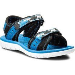 Buty dziecięce: Sandały CLARKS – Surfing Coast 261313706 Blue Combi