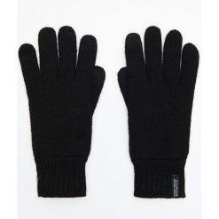 Ocieplane rękawiczki - Czarny. Czarne rękawiczki męskie marki Cropp. Za 49,99 zł.