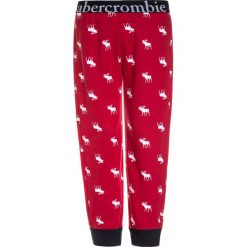 Abercrombie & Fitch SLEEP Spodnie od piżamy red. Czerwone bielizna dziewczęca Abercrombie & Fitch, z materiału. Za 139,00 zł.