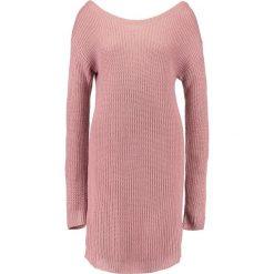 Sukienki: Missguided AYVAN OFF SHOULDER  Sukienka dzianinowa rose pink