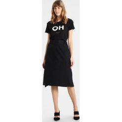 T-shirty damskie: Amorph Berlin OH Tshirt z nadrukiem black/white
