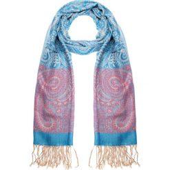 Apaszki damskie: Niebieska apaszka z orientalnym wzorem QUIOSQUE