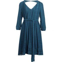 Sukienki hiszpanki: Patrizia Pepe Sukienka letnia dark mineral blue