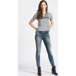 G-Star Raw - Jeansy Lynn. Niebieskie jeansy damskie marki G-Star RAW, z bawełny. W wyprzedaży za 369,90 zł.