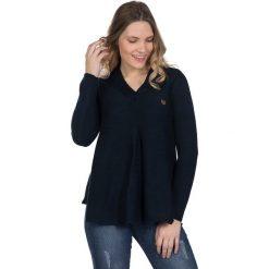 Sweter w kolorze czarnym. Niebieskie swetry klasyczne damskie marki Giorgio di Mare, xs, z dzianiny. W wyprzedaży za 172,95 zł.