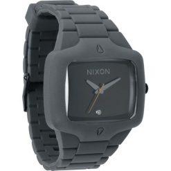 Zegarek unisex Grey Black Nixon Rubber Player A1391195. Zegarki damskie Nixon. Za 647,00 zł.