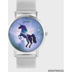 Zegarki damskie: Zegarek - Jednorożec - metalowy