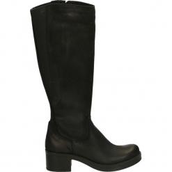 Kozaki - 6071 NAB NERO. Czarne buty zimowe damskie Venezia, z nubiku. Za 319,00 zł.