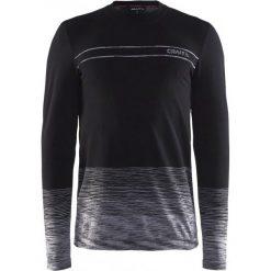 Odzież termoaktywna męska: Craft Koszulka Męska Wool Comfort Czarna M