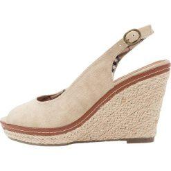 Rzymianki damskie: Refresh Sandały na obcasie beige