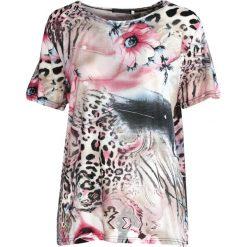 Różowy T-shirt Rose. Czerwone bluzki damskie marki Born2be, l. Za 29,99 zł.