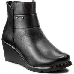 Botki LASOCKI - OCE-1959-05 Czarny. Czarne buty zimowe damskie Lasocki, ze skóry, na obcasie. Za 199,99 zł.