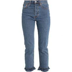 Levi's® WEDGIE STRAIGHT Jeansy Straight Leg ruffle my feathers. Niebieskie jeansy damskie Levi's®. Za 399,00 zł.