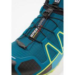 Salomon SPEEDCROSS 4  Obuwie do biegania Szlak deep lagoon. Niebieskie buty do biegania męskie Salomon, z gumy, salomon speedcross. Za 549,00 zł.