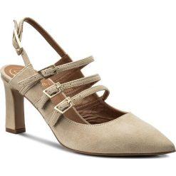 Rzymianki damskie: Sandały BALDOWSKI – D02253-7633-002 Zamsz Beż Jasny